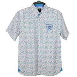 Gedruckte Baumwolle der Männer Hemd beiläufig