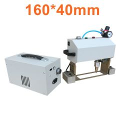 Nom Numéro de châssis portable la plaque de numéro de vin de la machine de gravure de métal Electro Magnetic Machine pneumatique de martelage de points de marquage