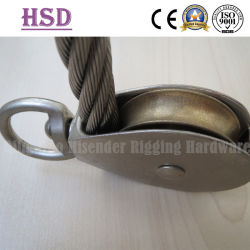 Puleggia Swivel Typw con Wire Rope