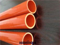 Cor-de-laranja para mangueira de silicone fabricado na China