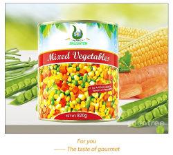 소금물에 있는 통조림 제품 최신 판매에 의하여 통조림으로 만들어지는 혼합 야채