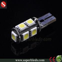 Haute qualité Canbus 12V T10-5050-9SMD LED témoin de l'automobile
