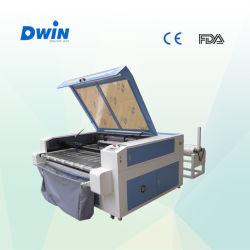 Cabeças de Dupla Alimentação Automtic Fabric máquina de corte a laser