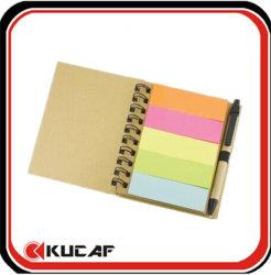 Custom переработки цветных спираль Блокнота Блокнот ноутбук