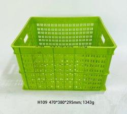Diseño Popular Caja de inyección de plástico usado el molde de calidad