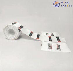 최고의 품질 롤에 있는 새 판매 워시 라벨 사용자 정의 의류 로고 라벨 인쇄 라벨
