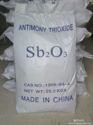 La Chine 99,5 % Trioxyde d'antimoine fournisseur