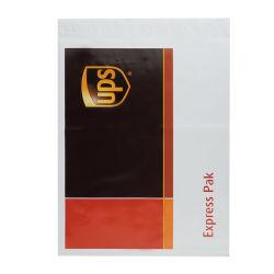 Il bollettino di plastica dell'alberino dell'UPS del DHL SME della cartella espressa del corriere insacca la busta di spedizione stampata abitudine