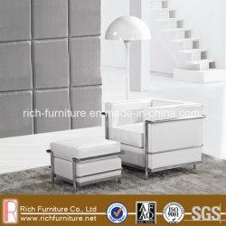 Le Corbusier LC2 sofá con el asiento otomano (1)