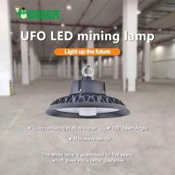 Het industriële LEIDENE van de Spaander van de Lens SMD van de Huisvesting 200W Hoge UFO van de Baai