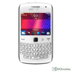 Entsperrt für Brombeere 9360 setzte die weiße schwarze abgeschliffene Handy-Vorlage frei