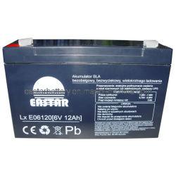 Bateria de chumbo selada 6V12ah (EA6-12)