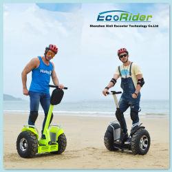 新製品 Ecorider Golf Cart リチウムバッテリ、 Road Electric に搭載 Chariot の 2 車輪のスマートバランスの電気スクーター