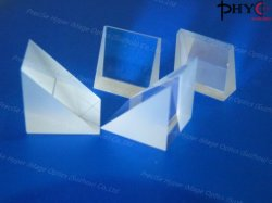 منشور الزاوية اليمنى للزجاج البصري عالي الدقة (JGS1) المزود بمنصهرات فوق بنفسجية (JGS1)