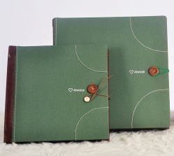 Cloth classico Picture Albums per Wedding Shops (PA-021)