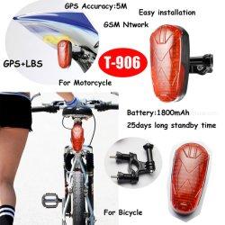 25일 대기 음성 기능이 있는 숨겨진 자전거 GPS 추적 장치 모니터 화케 알람 T906