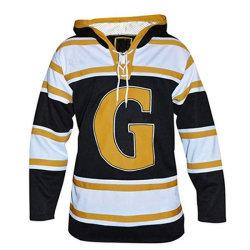 Commerce de gros Cheap Mens contraste La couleur de l'équipe de hockey sur glace Custom Vêtements Sports Jerseys