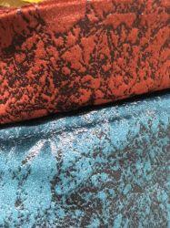 Veludo em relevo para o sofá que cobre e a almofada