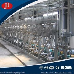 Hidrociclone separando a extração de proteínas de glicose de milho Amido de milho fábrica rentável