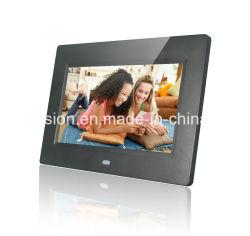 Cornice fotografica digitale LCD con supporto per riproduzione video in loop 1080P