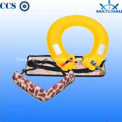 Los cinturones de seguridad de la vida marina inflable boya