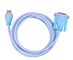 DVIケーブルの高い定義への高速HDMI