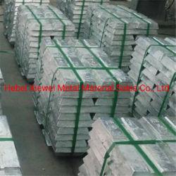 Китай производства цинка Ingot с 99,95 %