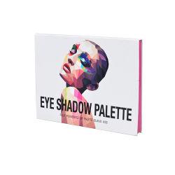 Caixa de cosméticos personalizados com Espelho Vazio Paleta Eyeshadow Box