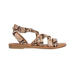 Змеи PU сандалии сандалии платформы повседневный сандалии женщин обувь