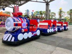 Amusement Ride Park Shopping Mall Kids Trackless Train en fibre de verre
