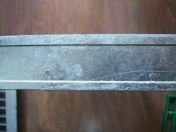 فولاذ يبشر مع أنا نوع إتجاه قضيب