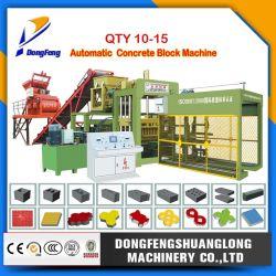 Cant. a 10-15 Automático y bloque de hormigón hidráulico Máquina/máquina de ladrillos de cemento/bloque hueco/máquina pavimentadora bloquee la máquina