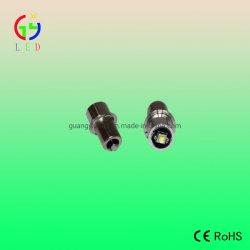 لمبة مصباح LED الأيمن الأمامي P13.5s مصباح الوميض، لمبة مصباح LED مقاس 3 واط CREE، لمبة استبدال P13.5s CREE XP-G2 LED