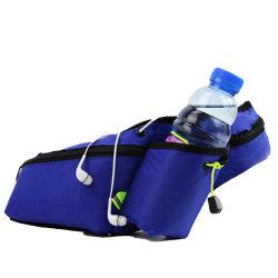 حقيبة الخصر الركض المتعددة الجيوب، وحزام الحقيبة بكيس الجري مع حامل زجاجات الماء، وحقيبة رياضية مقاومة للماء، وملاءمة عاكسة 6.5 بوصة ′ Cellphone Esg12967