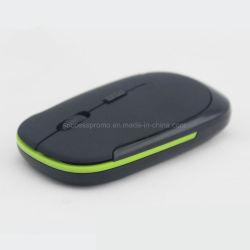 Mouse óptico sem fio ultra-fino para uso dom