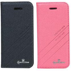 Flip magnetico Hard Leather Argomento Cover per il iPhone 6 Plus