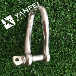 4-12mmのステンレス鋼AISI304/316のねじれの手錠