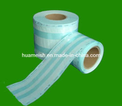 Molinete Plana Heat-Sealing Bolsas Gusseted bolsas do Molinete para esterilização