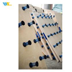 Современный тренажерный зал Спиральная пружина пола для общего объема основных