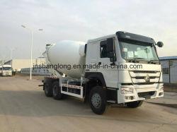 HOWO 6X4 10 M3 믹서 트럭 (ZZ1257N3841/SOWA)