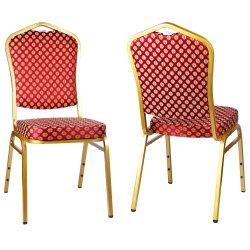 알루미늄 대중음식점 연회 호텔 교회 결혼식 의자를 겹쳐 쌓이기