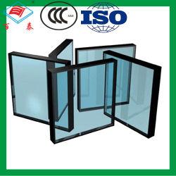 Emissividade construção triplo temperado oco reflexivo segurança temperado prédio isolado de baixo e copo