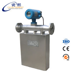 0,1% выход RS485 жидкость Coriolis Тип датчика измерения массового расхода в метрах