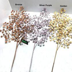 91cm 황금 인공적인 분지 Levaes 훈장을%s 새로운 디자인된 인공적인 돈 잎