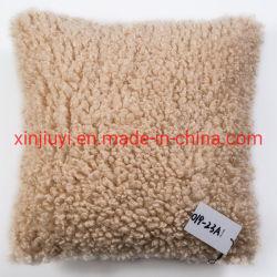 Успешных продаж Large-Grained Фо Sheepskin мех подушку сиденья и заполнение
