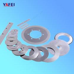Round lâminas de corte para cortar a película de plástico de alumínio