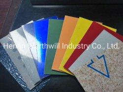 Revestimento em alumínio sólido de tintas/Folha de cor de alumínio para sinal de Publicidade