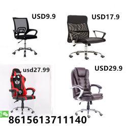Conférence de maillage ergonomique pivotant en cuir Computer Gaming Racing chaise de bureau