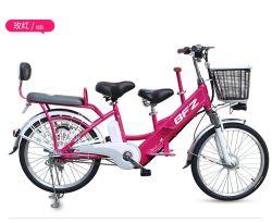 Il migliore pedale della città di verde di prezzi 2018 aiuta la bicicletta elettrica del Genitore-Bambino, bici elettrica della città