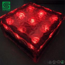 EIS-Ziegelstein-Lichter der Solarplasterungs-IP68 Glas